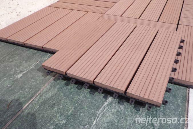 Dřevěné desky na terasu